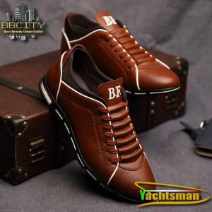 Men Sneakers Shoes Driving Shoes Casual Shoes PU Leather Sport Flat Round Toe Men's Casual Shoes Fashion All Season