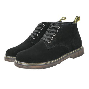 Men ankle boots leather warm autumn winter boots.