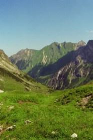 Abstieg zur Widderstein Hütte