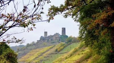 Aufstieg zur Burg Thurant