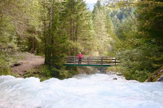 Die Brücke über die Bistrica