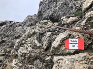 Aufstieg zur Westlichen Karwendelspitze
