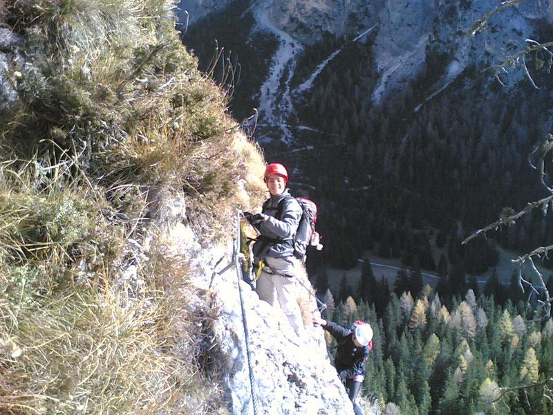 Stevia – Klettersteig Sandro Pertini