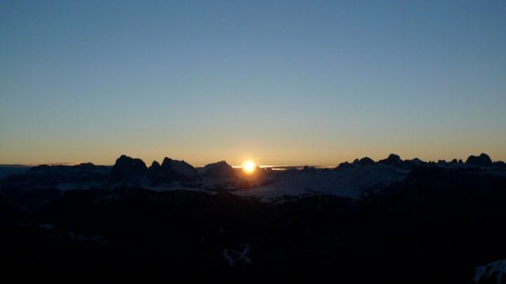 Sonnenaufgang Rittner Horn (Wieder mal ;)