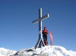 Am Gipfel war es kalt und windig