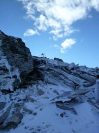 Unter dem Gipfel