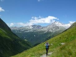 Aufstieg zur Hochfeilerhütte