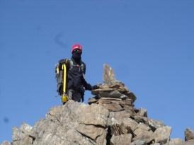 Das Steinmännchen auf der Saldurspitze