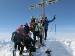 Gipfelkreuz Similaun