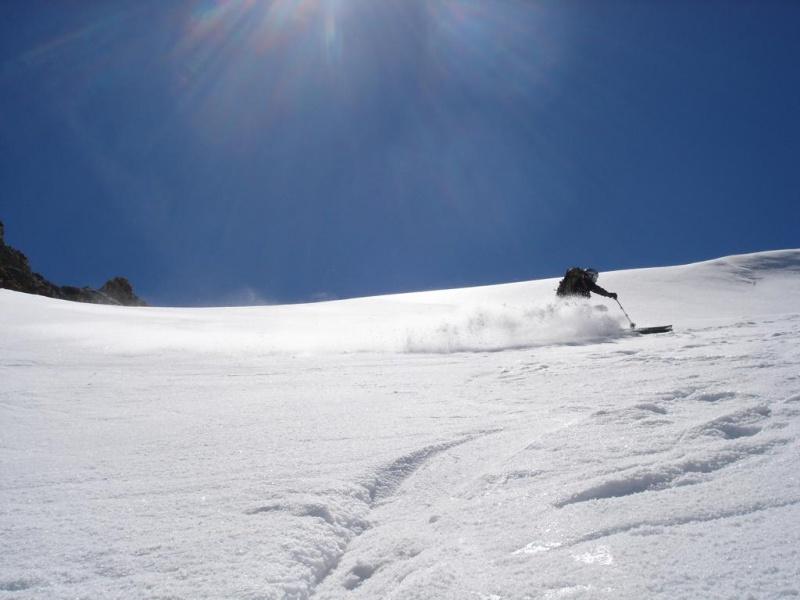 Mont Blanc du Tacul 4248m Mont Blanc 4808m