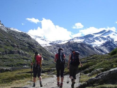 Richtung Martellerhütte
