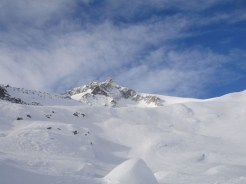Nach der Rinne der Gipfelblick