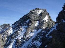Abstieg über die Nordseite