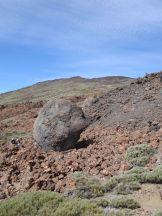Teide-Eier beim Abstieg vom Pico Viejo