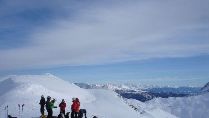 Röthenspitze im Jaufental (2444m)