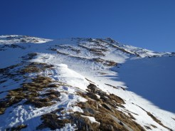 Nicht mehr weit zum Gipfel
