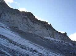 Ein Teil des Wildgall - Westgrates von der Seite