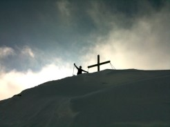 Sabbi am Gipfel