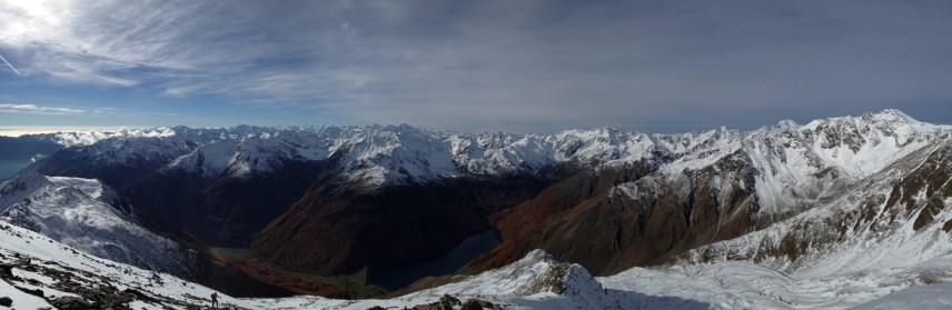 Blick Richtung Ortler-Alpen