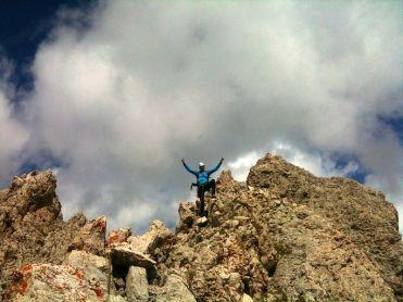 Gipfel bald erreicht