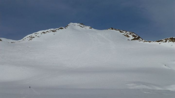 Langtauferer Spitze (3529m) von Schnals