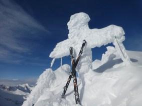 Gipfelkreuz V Hornspitze