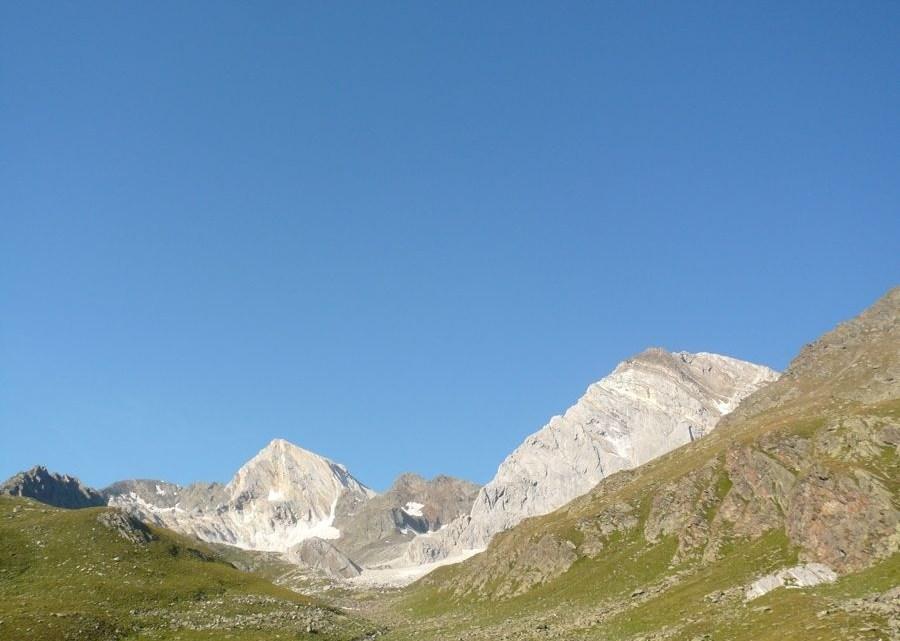 Hohe Weisse (3278m) Ostgrat