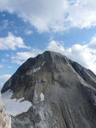Rückblick zum Gipfel