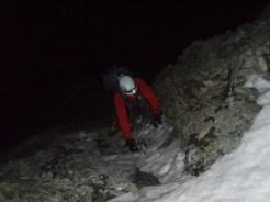 Im Dunkeln durch den Felsriegel