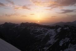Zu Beginn des Eisfeldes auf ca. 3.450 m