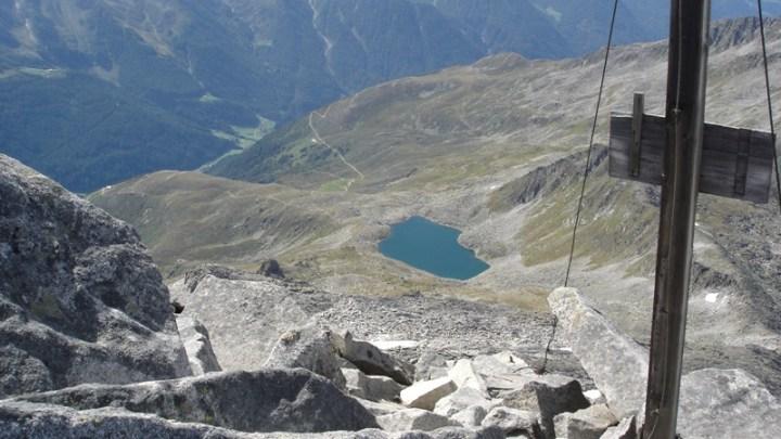 Rauchkofel (3252 m) in Prettau
