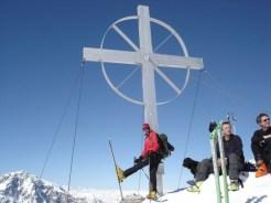 Ich mit Gipfelkreuz
