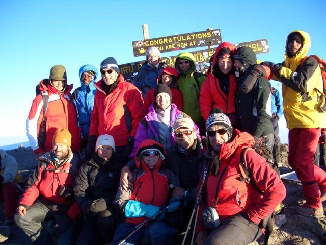 Kilimanjaro (5895 m) über die Machame Route 15.08.08 -21.08.08