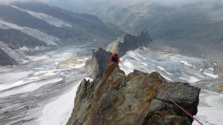 Dreiherrenspitz (3499mt) Erstbegehung Westgrat