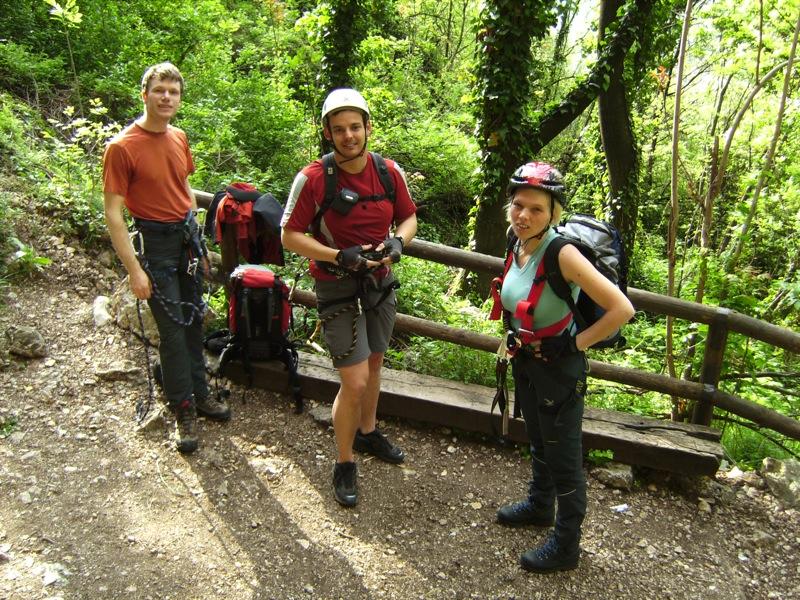 Klettersteig Monte Albano bei Mori