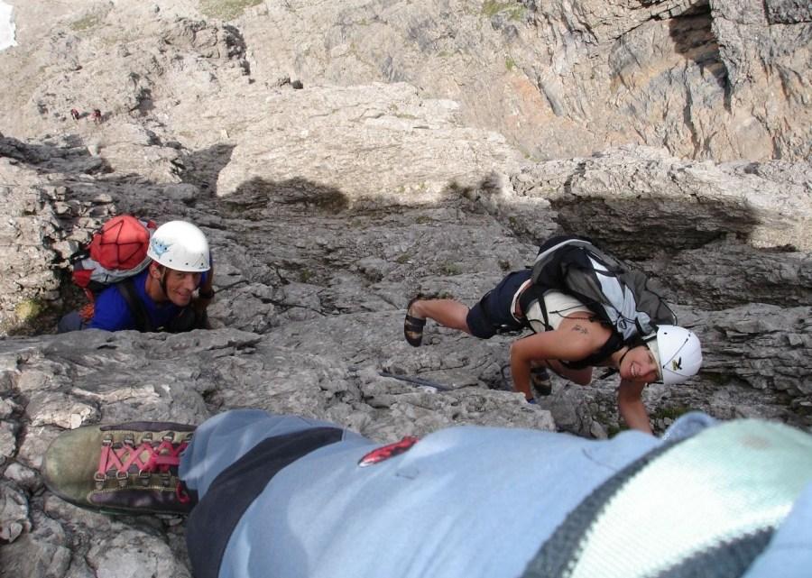 Klettersteig Laserzwand (2568m)