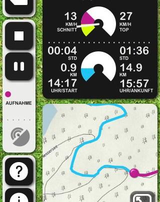 iPhone-Apps für Bergsteiger
