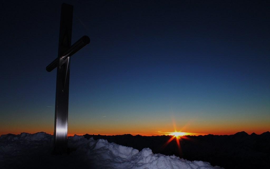 Sonnenaufgang Turner Kamp (3418mt)