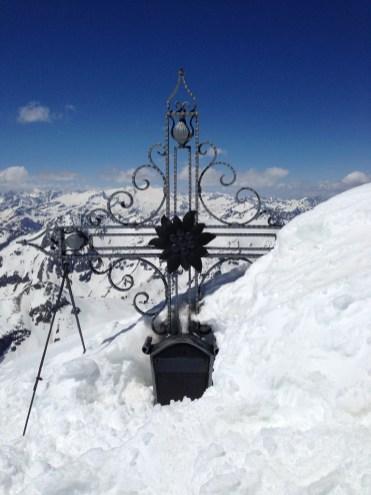 Hohe Riffl - Gipfelkreuz