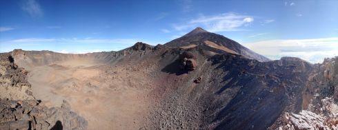 Der riesige Krater des Pico Viejo