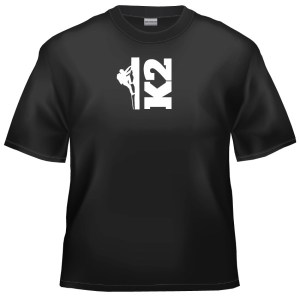 Rock climb K2 t-shirt