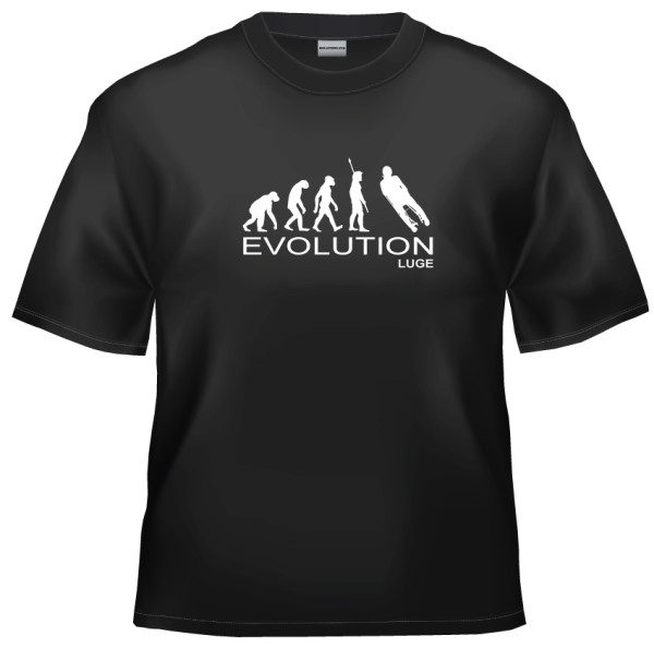 Evolution luge t-shirt
