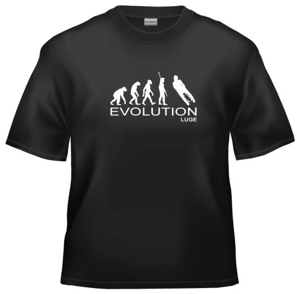 Evolution luge t-shirt