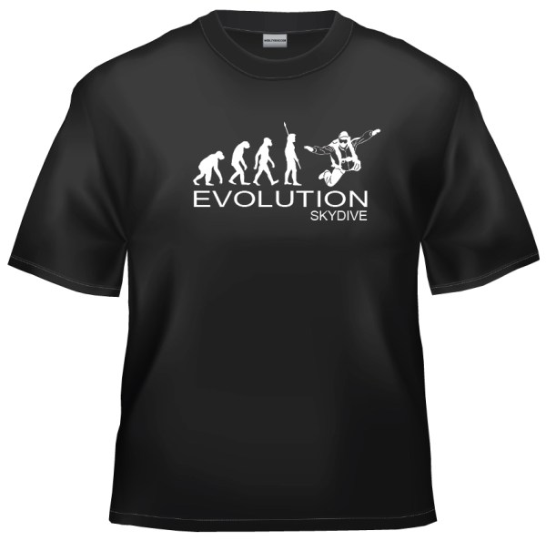 Evolution skydive t shirt