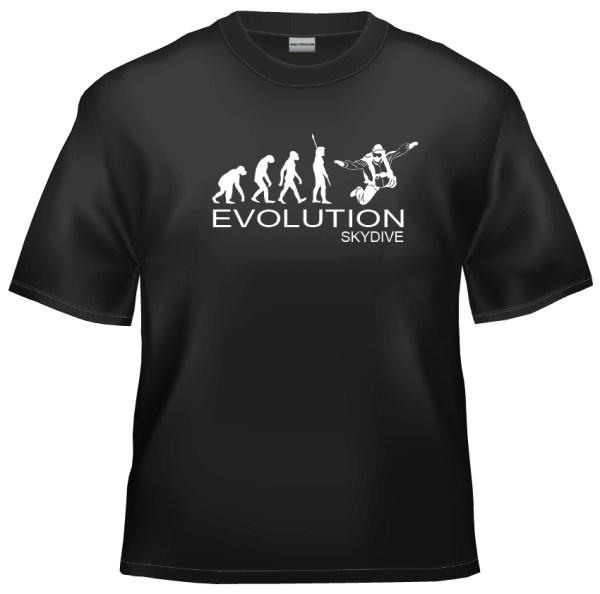Evolution skydive t shirt
