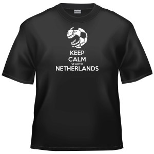 Dutch Football - Keep Calm We Are The Netherlands t-shirt
