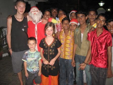 Julemaend i Kerala