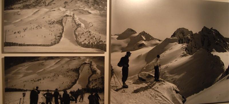 Schwarz-Weiss Fotos zeugen über das aktive Urserntal vor über 70 Jahren
