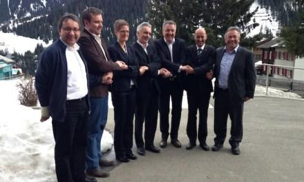 Programm San Gottardo 2020 unterzeichnet Memorandum of  Understanding mit Andermatt, Sedrun und Disentis
