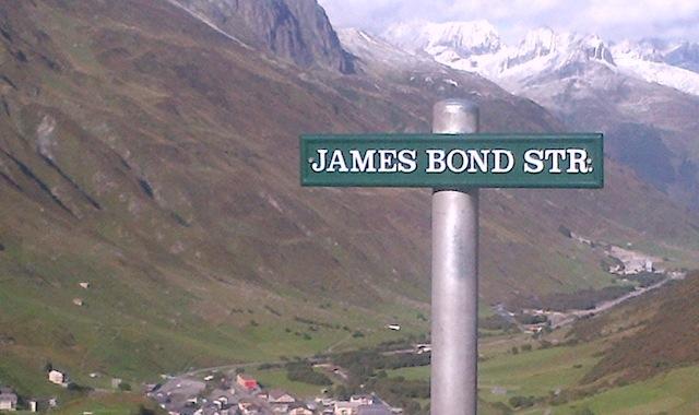 The James Bond Street